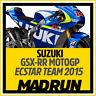 Kit Adesivi Suzuki GSX-RR Team Ecstar MotoGP 2015 - High Quality Decals