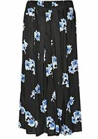 Women's Long Gypsy Maxi Summer Skirts  Ladies Skirt sizes 10 to 24