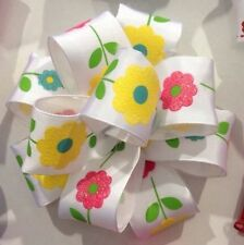 Printed Wire-Edged Craft Ribbons