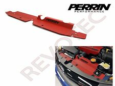 Red Perrin Radiator Shroud For 2008-2014 WRX STi 2008-2011 Impreza
