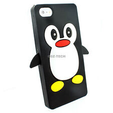 For Apple iPhone 5C Colorful Cute Penguin Silicone Gel Soft Phone Case Cover