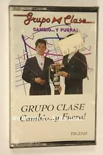 Cambio Y Fuera by Grupo Clase (Jan 3, 1994) (Audio Cassette Sealed)