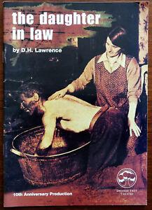 The Fille En Law Par D.H.Lawrence , Orange Tree Théâtre Programme 2001