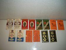 Vintage 7 Sets 2 Per 1 Set Tobacco Cigarette Rolling Papers Lucky Strike Etc.