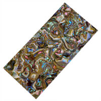 Multicolor Shell Celluloid Guitar Head Veneer Shell Sheet