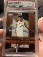 LeBron James Upper Deck 2003 #1- PSA 10 Gem Mint Condition Rookie Card