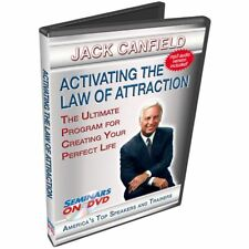 Jack Canfield 2 Hour DVD Video on Law of Attraction, Goal Setting & Achievement