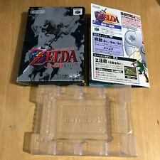 JAPANESE Nintendo 64 Game BOX ONLY N64 NTSC J - Legend of Zelda Ocarina of Time