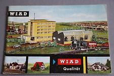 X481 WIAD Qualität Train catalogue maquette Ho 30 pg 21*14,7 cm Deutsch Katalog