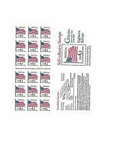 {BJ Stamps  2887a  G--Old Glory. No Plate #  Pane of 18  MNH  32¢. Issued  1994.