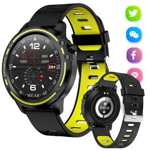 Bluetooth Smart Wrist Watch Waterproof For Samsung S10 S9 Note 9 iPhone XS XR 8