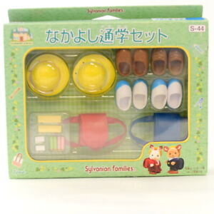 Sylvanian Families SCHOOL COMMUTING SET S-44 Epoch Japan Calico Critters�@2010