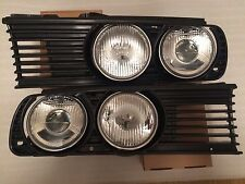 NEW BMW E30 EURO headlights with grilles M3 325i 323 m20 m50