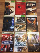 X360: LOT DE 9 JEUX EN LOOSE        (lot 42)