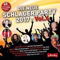 DIE NEUE SCHLAGER PARTY,VOL.4 (2017)   3 CD NEU