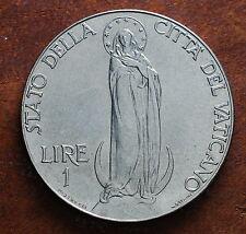 1941  Vatican  City   1 lira 1941 XF+