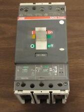 ABB SACE T4N250 ISOMAX BREAKER 250 AMP 600 VAC 3 POLE W/ PR221 DS Free Ship