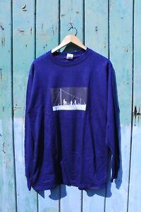 Vintage TRAVIS - The Man Who 2000 US Tour Concert Long Sleeve T-shirt Large