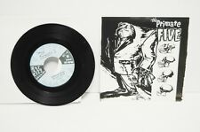 "#1 The Primate Five Rat City Records 7"" 45rpm in Picture Sleeve"