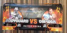 Star Wars ROTS Revenge Sith Battle Arena Grievous Bodyguard vs Obi-Wan Kenobi