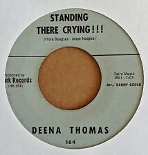 NORTHERN SOUL - DEENA THOMAS - STANDING THERE CRYING - CLARK 45
