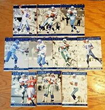 UDA AUTOGRAPHED Aikman Chronicles 5x7 Jumbo Boxed 10-card set TROY AIKMAN