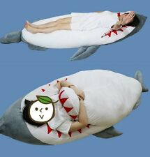 2018 Hot Giant Shark Stuffed Plush Dakimakura Hugging Body Pillow Sleeping Bag