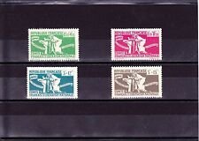 France 1973 -Timbres COLONIES neufs** (N60 à N63)