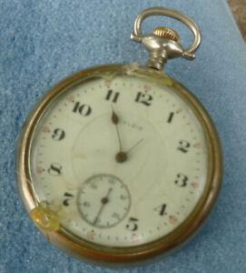 1917 Elgin Pocket Watch for Repair 16s 17j Model 7
