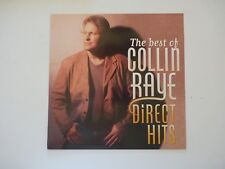 Collin Raye Direct Hits Best of LP Record Photo Flat 12x12 Poster