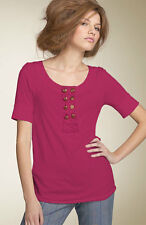 Marc Jacobs Electric Fuschia Pink Maydie Jersey S/S Top NWT XS