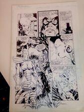 Original Comic Art The Pact Ashcan page 2 Image, 1994 Chris Wozniak Comic Art