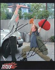 CHRISTOPHER TITUS & ZACK WARD Signed 10x8 Photo TITUS & BIG SHOTS COA