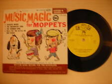 """Listen & Learn Record MUSIC MAGIC FOR MOPPETS 7"""" 33rpm 1964"""