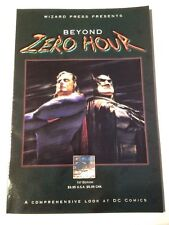 wizard press presents beyond zero hour 1994