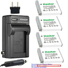 Kastar Battery AC Charger for Canon NB-6L NB6LH CB-2LY Canon PowerShot SX540 HS