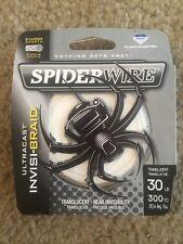 Spiderwire Invisi-Braid 30 Lb 300 Yd Spool Translucent Fishing Line