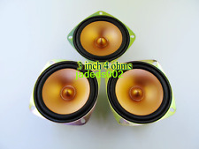 "1pcs 3""inch dual magnetic full-range speakers 4ohm 5-8W 78mm"
