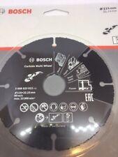 "BOSCH Dia 115mm 4.5"" Carbide Multi Cutting Wheel 2608623012"