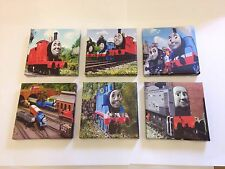 SET OF 6 Thomas The Tank Engine & Friends Canvas Pictures