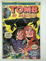 TOMB OF DARKNESS #15 MARVEL 1975 BRONZE AGE COMIC BOOK I AN'T GOT NO BODY!