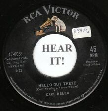 Carl Belew 1962 C&W 45 (RCA 8058) Hello Out There/Together We Stand