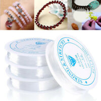 Strong Elastic Stretchy Crystal Thread Cord String for Beading Jewelry Making