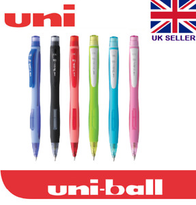 UNI-BALL SHALAKU S MECHANICAL PENCIL 0.5mm Black Blue Red Pink Light Blue Green
