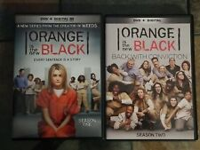 Orange is the New Black Seasons 1 & 2 Widescreen DVD 8xDiscs with Bonus Content