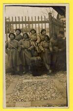 cpa Carte Photo MILITAIRES SOLDATS du 141 ème Régiment Armée d'Afrique ?