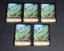 Lot of (5) World of Warcraft WoW TCG Jin'rohk, The Great Apocalypse Honor - Epic