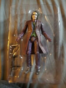NECA The Dark Knight Film Joker Heath Ledger Figure loose mint complete