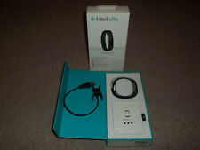 Fitbit Alta Activity Tracker Small to Large Gray Wristband Box & Setup FB406BKS