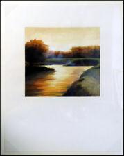 James Thorpe Dusk Hand Signed Acrylic Landscape Make an Offer